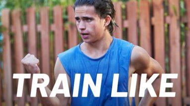 Tanner Buchanan's 'Cobra Kai' Karate Workout   Train Like a Celebrity   Men's Health