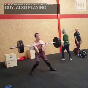 19-Year-Old French Teen with Cerebral Palsy Power Cleans 155 Pounds