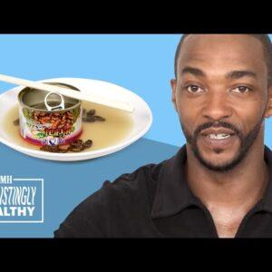 Anthony Mackie on Captain America Movie Rumors  | Disgustingly Healthy | Men's Health