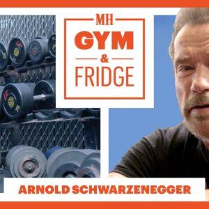 Arnold Schwarzenegger Shows His Gym & Fridge | Gym & Fridge | Men's Health