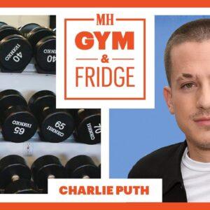 Charlie Puth Shows Us His Gym & Fridge | Gym & Fridge | Men's Health