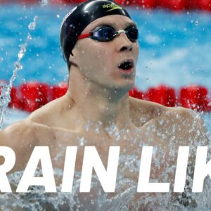WORLD RECORD-BREAKING Swimmer's Olympic Workout | Train Like a Celebrity | Men's Health