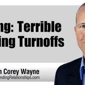 Dating: Terrible Texting Turnoffs
