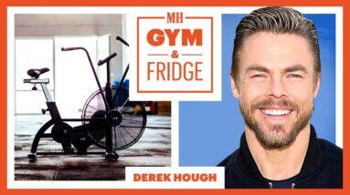 Derek Hough Shows His Home Gym & Fridge | Gym & Fridge | Men's Health