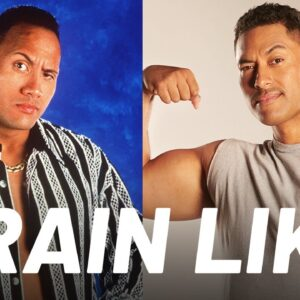 The Young Rock's Workout to Get Jacked | Train Like a Celebrity | Men's Health