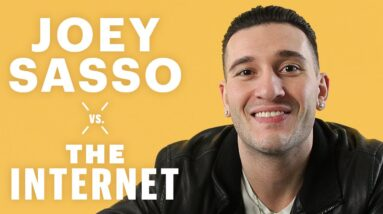 Everything Makes Joey Sasso Cry | Vs. The Internet | Men's Health