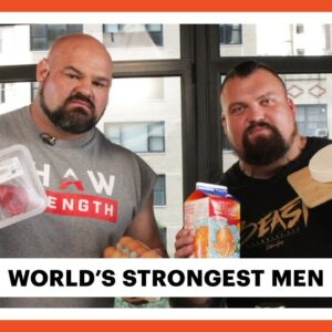 Everything the World's Strongest Men Eat In a Day | Eat Like | Men's Health