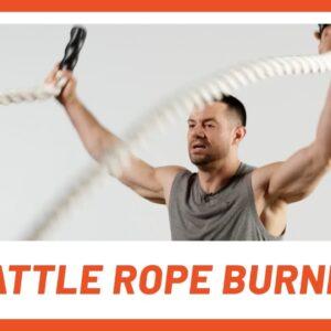 Fat-Blasting Battle Rope 10-Min Workout | BURNER | Men's Health
