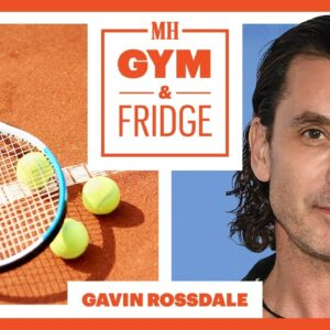 Gavin Rossdale Shows His Home Gym & Fridge | Gym & Fridge | Men's Health