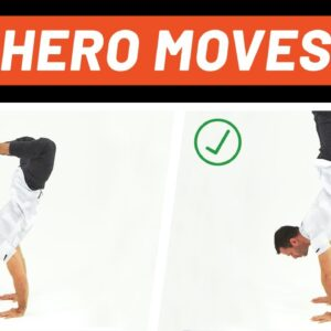 Handstand Tutorial for Strong Dudes | Hero Moves | Men's Health