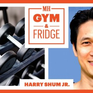 Harry Shum Jr. Shows His Home Gym & Fridge | Gym & Fridge | Men's Health