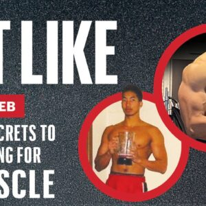 How to Eat for Building Muscle Mass | Eat Like Isolated Eb | Men's Health