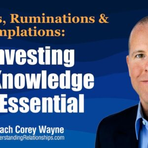 Investing In Knowledge Is Essential