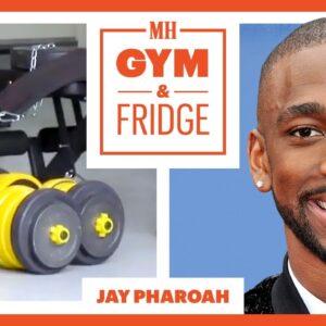 Jay Pharoah Shows His Home Gym & Fridge | Gym & Fridge | Men's Health