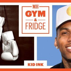 Kid Ink Shows His Home Gym & Fridge | Gym & Fridge | Men's Health
