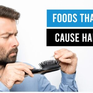 7 Worst Foods That Could Cause Hair Loss | Foods That You Must Avoid For Hair Growth | Hair care!