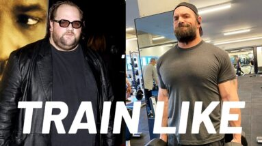 Ethan Suplee on Losing 250 Pounds and Getting Jacked | Train Like A Celebrity | Men's Health