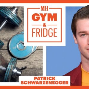 Patrick Schwarzenegger Shows His Gym & Fridge | Men's Health
