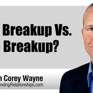 Real Breakup Vs.  Fake Breakup?
