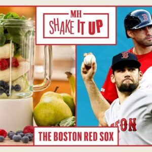 Red Sox Players Make Their Protein Shakes | Shake It Up | Men's Health