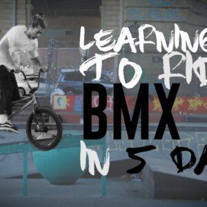 Riding BMX is F@#%ing HARD! | The Adventurist | Episode 3