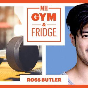 Ross Butler Shows His Gym & Fridge | Gym & Fridge | Men's Health