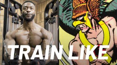 Black Adam's Aldis Hodge 'Hawkman Chest Workout' | Train Like a Celebrity | Men's Health