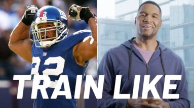 Michael Strahan Breaks Down His Training from NFL to GMA | Train Like a Celebrity | Men's Health