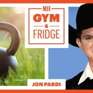 Jon Pardi Shows His Home Gym & Fridge On His Nashville Farm | Gym & Fridge | Men's Health