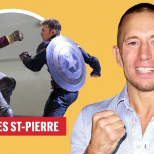 Georges St-Pierre on The Falcon and The Winter Soldier & Fighting | Vs. The Internet | Men's Health