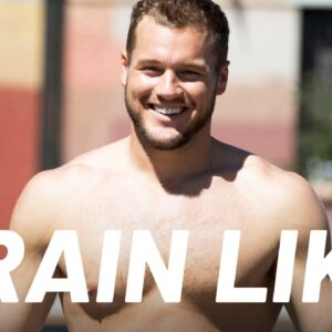 """Bachelor Star Colton Underwood Shows His """"Cutting"""" Workout 
