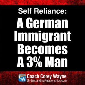 A German Immigrant Becomes A 3% Man