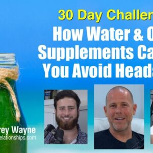 How Water & Other Supplements Can Help You Avoid Headaches