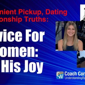 Advice For Women: Be His Joy