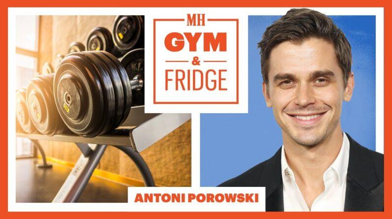 Antoni Porowski Shows His Gym & Fridge | Gym & Fridge | Men's Health
