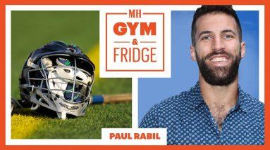 This Professional Lacrosse Player Got Epidurals?! | Gym & Fridge | Men's Health