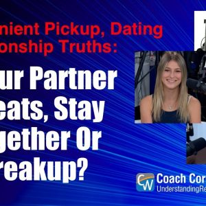 If Your Partner Cheats, Stay Together Or Breakup?